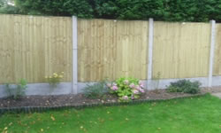 Fencing services from Martin Kay Landscaping